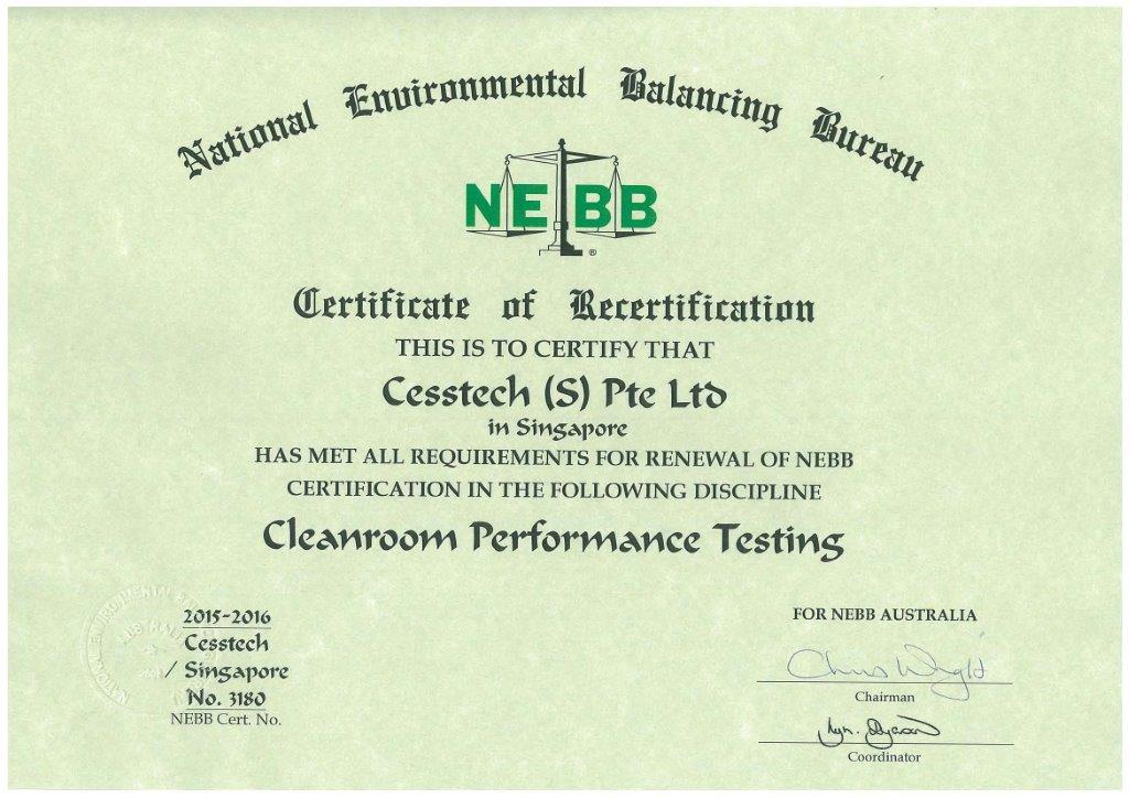 Cleanroom And Contamination Control Testing Cesstech